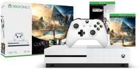 Игровая консоль  XBOX One S 1 ТБ + Assassin's Creed Origins + Tom Clancy's Rainbow Six Siege