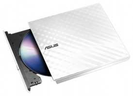 DVD+/-RW Asus SDRW-08D2S-U LITE/WHT/G/AS White Slim Ret. USB2.0