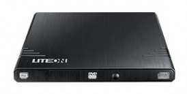 DVD+/-RW Lite-On eBAU108 slim ext M-Disk RTL черный