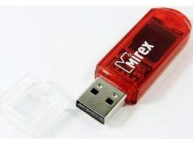 Флеш диск USB-Flesh 32Gb Mirex Elf красный