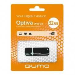 Накопитель USB-Flesh 32Gb Qumo Optiva 02