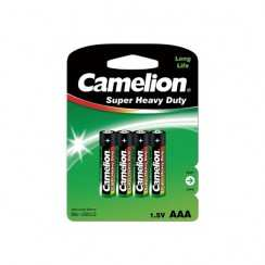 Батарейка Camelion Heavy Duty Green R3 4BL