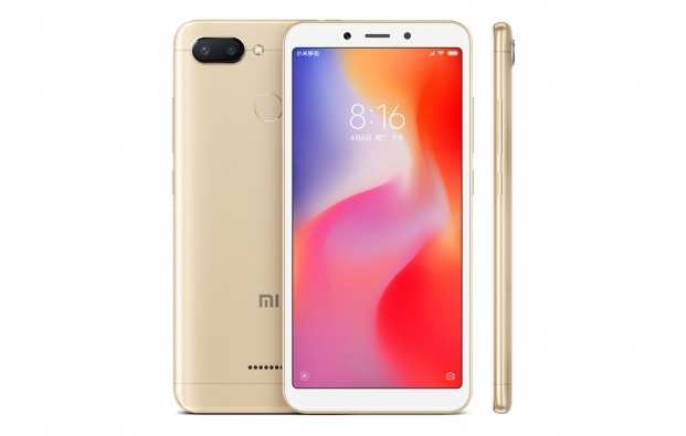 Смартфон Xiaomi Redmi 6A 16GB Золотой
