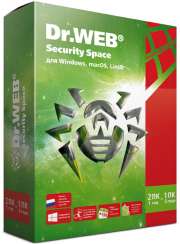 ПО Dr.Web Security Space 1 ПК/2 года (BHW-B-12M-2-A3)