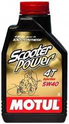 Масло моторное 4T Scooter Power 5W-40 (1л.)