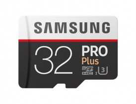 Карта памяти MicroSDHC 32GB Samsung PRO Plus SAM-MB-MD32GARU